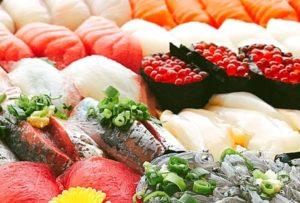 魚卓の上寿司セット