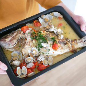 魚卓 鯛のアクアパッツァセット