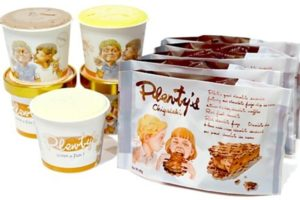 プレンティーズアイスクリーム&生チョコアイスサンドセット