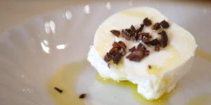Osteria e Bottega Sのモッツァレラチーズ