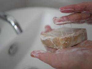 Osteria e Bottega S オステリアエボッテガエッセのホエー石鹸
