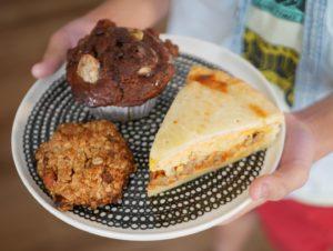 momosweetsのミートパイ、マフィン、クッキー